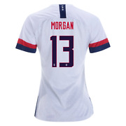 Nike Alex Morgan 13 Usa 2019 World Cup 3 Star White Womens Youth Jersey Patch