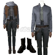 Rogue Onestar Wars A Story Jyn Erso Sergeant Costume Cosplay Costume Full Set