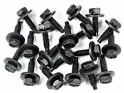 Gm Truck Body Bolts- 1/4-20 X 15/16 Long- 7/16 Hex- 3/4 Washer- 20 Bolts 174