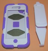 Griffin Survivor Iphone 5/5s Military Rugged Case, With Clip, Purple Two Tone