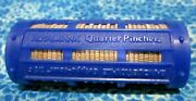 36 1964 Washington Silver Quarters In A Rare Royal Canadian Mint Pincher Roll