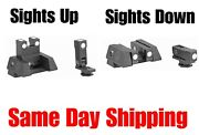 Kns Precision Switchsight Folding/flip-up Switch Low-profile Sights For Glock