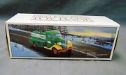 Vintage 1985 First Hess Truck Bank Tanker Truck With Box And Inserts
