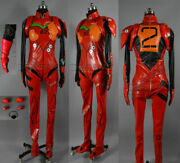 High Quality/neon Genesis Evangelion Eva Soryu Asuka Langley Battle Suit Cosplay