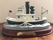 Wdcc Disney Steamboat Willie Mickeyand039s 70th Birthday Statue With Figurine Nib