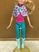 Barbie Doll And Her Sisters In A Pony Tale Stacie Horse Ride Outfit Clothes Boot