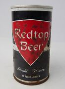 Vintage Redtop Red Top Beer Can Steel Fair Condition