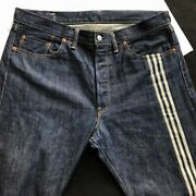 Yohji Yamamoto Jeans Y-3 Adidas 90and039s Menand039s Denim Jeans Size 34 Made In Japan