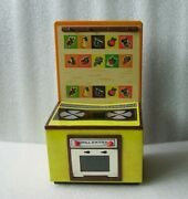 Vintage Grill Extra Tin Litho Toy Doll House Kitchen Stove Oven Cooker, Germany