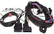 Western Fisher Snow Plow 3 Pin Plow And Truck Side Wire Harness 26359 26345