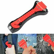 1pcs Car Safety Hammer With Carbide Tip Emergency Vehicle Escape Tool Belt Cutt