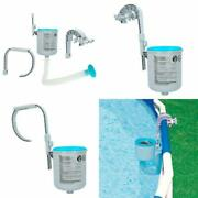 Swimming Pool Deluxe Surface Skimmer Wall Mount Basket Above Ground Debris Intex
