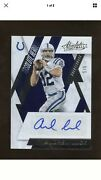Andrew Luck Panini Absolute Heroes Silver Autograph Auto 5/5 Colts