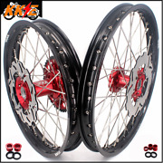 Kke 21/18 Enduro Rims Wheels Set Fit Honda Crf250r 2014 Crf450r 13-14 240 Discs