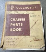 50 51 53 54 Olds Chassis Dealer Parts Book Nos Rare 88 98 Fiesta Gm Oem 36 39