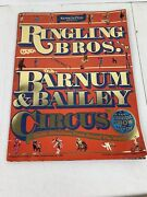 Ringling Brothers And Barnum And Bailey Circus 116th Edition Vintage 1986 Program