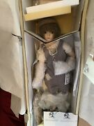 Les Miserables Cosette 898103 Porcelain Doll With Musical Mop Bucket