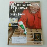 Woodworkers Journal May/june 2007 Volume 31 Number 3