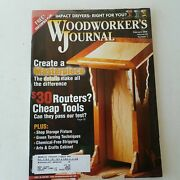Woodworkers Journal January/february 2005 Volume 29 Number 1