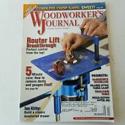 Woodworkers Journal May/june 2003 Volume 27 Number 3