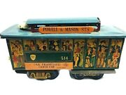 Verona Made In Japan San Francisco Cable Car Trolley Tin Friction Toy