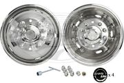 A+ 19.5 Stainless Steel Wheel Simulator Dodge 4500/5500 2011-current Bolt-on