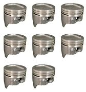 Ford Mercury 351 351w 5.8 Windsor Sealed Power Dish Top Pistons 8 1969 - 1976