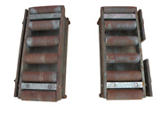 Gatto/conair Upper And Lower Pressure Plates For Model 210p 6 X 30 Belt Puller