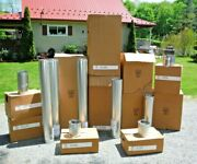 Large Lot Simpson Hearth And Home Direct Vent Fireplace Stove Pipe