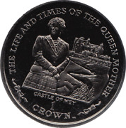 2002 1 Crown Life And Times Of Queenand039s Mother Castle Mey Elizabeth Ii Iom E47/8