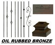 Oil Rubbed Bronze Wrought Iron Balusters