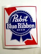 Pabst Blue Ribbon Old Style Sticker Decal Hot Rod Rat Rod Cooler Vintage Look