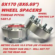 2pc 8x170 Hub Centric Wheel Spacers | 1.5 Inch 38mm | Ford Superduty