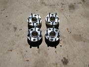 Four 4 Used Chrome Wheel Spacers For Dodge Ram 1995 Truck.
