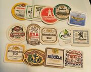 Collection German Beer Coasters Man Cave Brewiana
