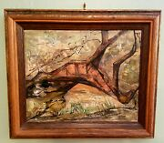 Original Oil Abstract Painting By Miriam Sowers Line Of Many Lives