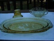 Amber Madrid Depression Glass By Federal Glass 1932-1939