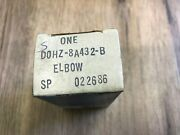 Nos Genuine Ford Commercial Truck Water Filter Housing Elbow D0hz-8a432-b
