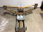 Mac Levy Products Corp Vintage Rowing Machine With Drafting Cast Iron For Pickup