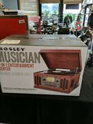 Crosley Ipod Mp3 Player Ready Cd Player Record Player Turntable Phonograph Cr704