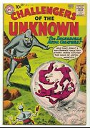 Challengers Of The Unknown 16 Vf Range Metal Creature Silver Age Dc Comics 1960