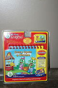 Leap Frog My First Leap Pad Pre-school Reading Rhymes And Games Cartridge And Book