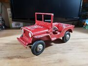 Oglesby Peru Indiana Willyand039s Jeep Cast Aluminum 1950and039s Red