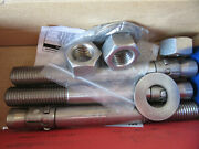 3 Powers 7652usa 316 Stainless Wedge Expansion Anchors 7/8 X 8 New