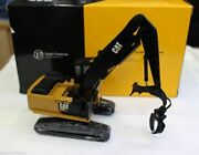 Cat 1/50 Caterpillar 568ll Wood Grab Machine Model Forestry Truck Toy Tr40002