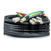 Elite Core 200and039 Supercat6 Quad Shielded Cable Snake Terminated Tactical Ethernet