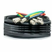 Elite Core 250and039 Supercat6 Quad Shielded Cable Snake Terminated Tactical Ethernet