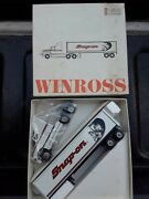 Winross Snap-on Tools 1993 Ford Aeromax 120 Tractor Trailer Mib
