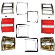 Rh And Lh Tail Light Lenses And Gaskets For 1968 Dodge Dart
