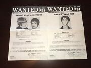 Sterling Hall Bombers Univ Of Wisconsin Fbi Wanted Posters Pls Make Best Offer
